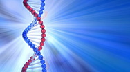 Stock Video Footage of Rotating DNA molecule