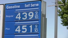 Rising Price of Fuel - stock footage