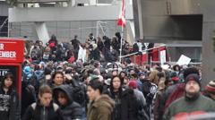 Marijuana Protest Toronto 2011 - 2 Stock Footage