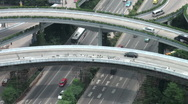Stock Video Footage of Flyover under construction in Guangzhou