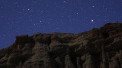 Geminids Meteor Shower 10 Timelapse  Milky Way ZO HD720 24p Stock Footage