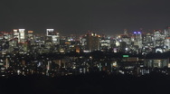 Tokyo at night Stock Footage