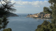 Stock Video Footage of Cinque Terra harbor at  Portovenere