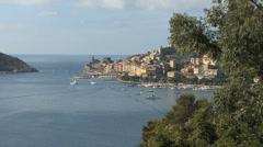 Portovenere in the Cinque Terra  Stock Footage