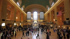 Grand Central 720p 60P for slow motion processing Stock Footage