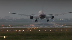 aircraft flight - stock footage