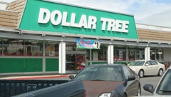 Dollar Store - stock footage