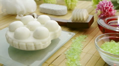 SPA items Stock Footage