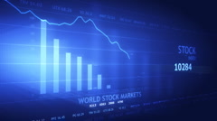 Stock data animated Stock Footage