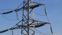 Electric line Stock Footage