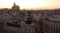 Madrid - stock footage