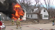 Stock Video Footage of Firefighters
