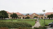 Stock Video Footage of Stanford University Main Quad Wide View