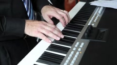 Jazz Keyboard HD - stock footage