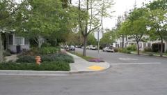 Palo Alto Community near Facebook Stock Footage