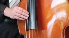 Double Bass HD - stock footage