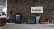 Stock Video Footage of Facebook Lobby