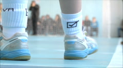 Shoes Athlete Stock Footage