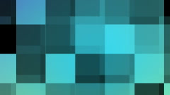 Blue mosaic Stock Footage