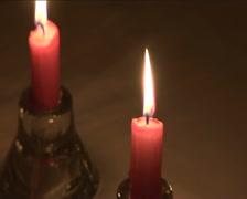 Kerzen 2 jpg Stock Footage
