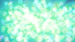 Particles bokeh effect Stock Footage