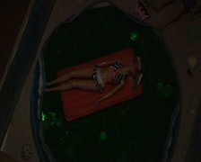 Baby bath jpg Stock Footage