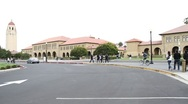 Stock Video Footage of Stanford University Main Campus