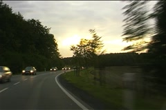 Cars on the road Stock Footage