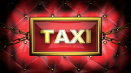 Stock Video Footage of taxi