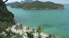 Tropical beach in Thailand Stock Footage