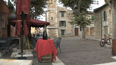 Italy Veneto wine town of Bardolino Stock Footage