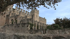 Italy Veneto Castle Torri dei Bertaco 9 Stock Footage