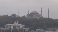 Stock Video Footage of Bosphorus sophia