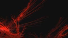 Red Feather Fire Background Feather Stock Footage
