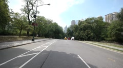 Central Park Bicycle ride 1080P native 24P - stock footage