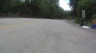 Speeding on the road Stock Footage