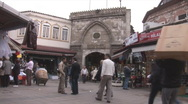 Stock Video Footage of Istanbul morning market