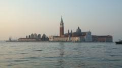 San Giorgio Maggiore, Venice, Italy Stock Footage