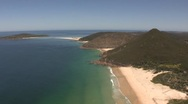 Stock Video Footage of Port Stephens Beach