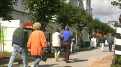 Ruegen Seaside Resort Stock Footage