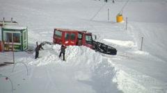 Ischgl Ski Area Stock Footage