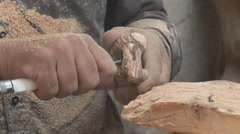 Bethlehem - souvenirs manufactory 5 - stock footage