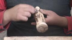 Bethlehem - souvenirs manufactory 7 - stock footage
