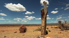 Desert sky Timelapse - stock footage
