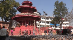 Nepal: Durbar Square Stock Footage