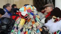 Venice Carnival Stock Footage