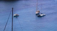 Stock Video Footage of Sailboats in the bay