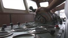 Shipboard equipment Stock Footage