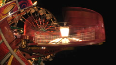 Carnival Night Roundup 2 Stock Footage