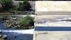 Los Angeles Urban River Vista 1 Stock Footage